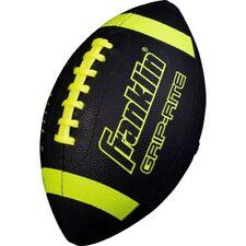 Franklin Sports Grip-Rite Junior Football Black/Neon