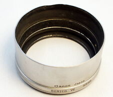 Canon Series 7 (VII) metal lens hood for 85mm f1.9 M39 rangefinder genuine