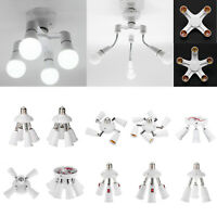 Einstellbar 3/4/5/9 Heads E27 LED Buchse Lampe Licht Glühbirne Splitter Adapter