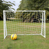 6x 4ft Football Soccer Goal Post Net For Kids Outdoor Football Match Training G*