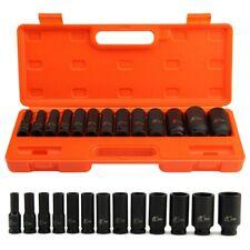 "13pcs Impact Sockets 1/2"" inch Drive Metric Deep Socket Set 10-32mm Garage Tools"