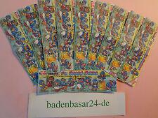 Komplettsatz Beipackzettel, Die Bingo Birds, 10 Beipackzettel