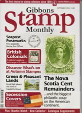 Stanley Gibbons Stamp Monthly Collectors Magazine September 2016