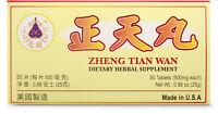 Zheng Tian Wan Supplement Helps Migraines Headaches Circulation Made in USA