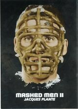 09/10 BETWEEN THE PIPES MASKED MEN II MASK SILVER #MM-22 JACQUES PLANTE *44357