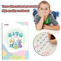 Literacy Fun Game Preschooler Learning English Alphabet Letter Word Toy U6Q4