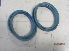 Set Of 2 H.D. Kevlar Repl Belts For 5' Caroni & Maschio Finishing Mowers