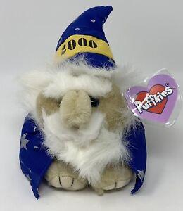 Puffkins Mystic Millennium Wizard 2000 Bean Bag Plush Stuffed Animal Toy Swibco