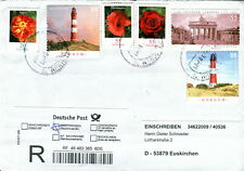 Germany Cover. Lighthouse, Flowers