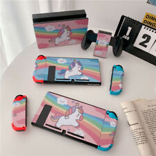 Cute Cartoon Protective Film Sticker Wrap Skin Decal Cover For Nintendo Switch