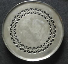 antique silver plate  TRIVET TEA POT STAND