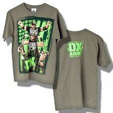 CATCH WWE T-shirt DX ARMY Taille 9-11 ans