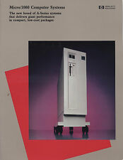 "ITHistory (1983) Brochure: HP MICRO/1000 Computer Systems ""New Breed"" * Q"