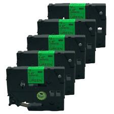 5PK Compatible for Brother P-Touch Laminated Tze Tz Label Tape Cartridge TZe-D31