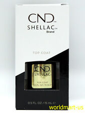 CND Shellac Gel Polish UV/LED Soak-Off #40403- Large Top Coat 0.5fl oz
