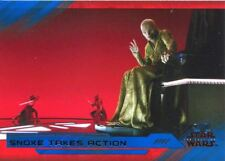 Star Wars Last Jedi S2 Blue Base Card #74 Snoke Takes Action