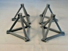 NEW Anti Tank Obstacles in Scale 1:43 New Diorama Parts Plastic Unpainted 4 PCS.