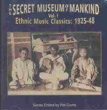 The Secret Museum Of Mankind, Vol. 1: Ethnic Music Classics 1925-1948 (Audio CD)
