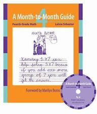 Fourth-Grade Math: A Month-To-Month Guide [With CDROM] (Mixed Media Product)