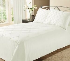 PEARL DUVET COVER SET WITH PILLOWCASE DOUBLE KING BEDDING SET