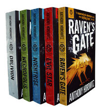 Anthony Horowitz Power of Five 5 Books Series in Order Oblivion Necropolis New