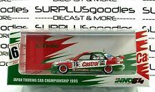 INNO64 1:64 HONDA CIVIC EG9 FERIO Gr. A #16 Japan Touring Car 1995 Castrol Mugen