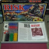 RISK The World Conquest Game 360 Miniatures Parker Brothers 1998