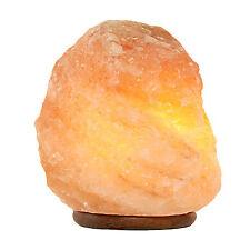 Cristal Piedra Natural del Himalaya lámparas de sal de roca 2x 2-3Kg Lámpara de Iluminación de la cocina