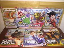 Nintendo Accion Lote 7  Revistas Wii Wii U Gba Snes Nes Gameboy Advance Switch