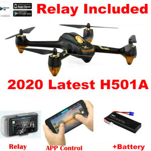 Hubsan X4 H501A 5.8G Brushless FPV RC Quadcopter APP 1080P Follow Me GPS + Relay