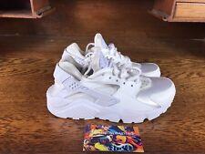 a2d1ac79a6d Nike Air Huarache Run Womens Running Shoe White White 634835-108 NEW Size 6
