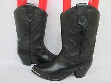 Oak Tree Farms Black Cowboy Boots Size 10