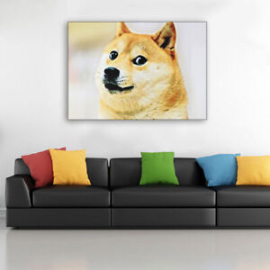 Dogecoin Poster 30x40cm Wall Sticker Home Decoration Accessories PaintingsHCA