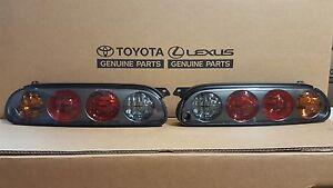 Toyota Supra JZA80 97-98 Genuine Toyota OEM tail light Set w/harness and bulbs