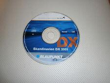 NAV DISC CD SKANDINAVIEN 2001 BLAUPUNKT TRAVELPILOT DX RNS COMAND MFD GENUINE