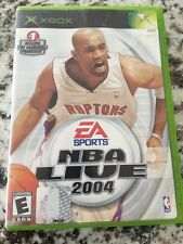 NBA Live 2004 Xbox, xbox Video Games Complete