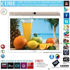 "CUBE T10 PLUS 4G 3GB RAM 8 CORE GPS 32GB 10.1"" RETINA ANDROID 7 PHONE TABLET PC"