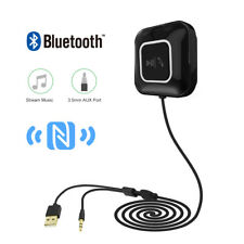 NFC Bluetooth 3.5mm AUX/Music Stereo Car Audio Music Receiver Adapter Hand Free