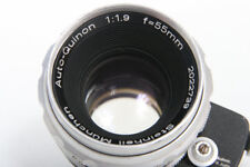Steinheil Auto-Quinon 55mm f1.9 Lens For Exakta camera
