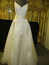 Wedding Gown - CASABLANCA - SIZE 12 - IVORY