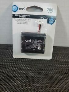 """ONN"" Cordless Phone Battery, NiMH, 700mAh 3.6V - ONB16TE003 (NEW)"