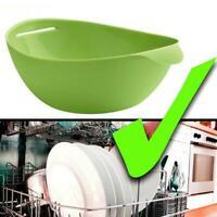 Kitchen Microwave Oven Steamer Silicone Cooking Pocket Folding Bowl Baking Tool