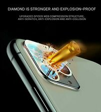 2Pack Fr iPhone 11 Pro Max camera lens diamond tempered glass screen protector