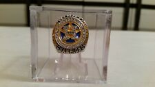 1 One World Series Championship Ring Display Cubes w/ Ring Stand