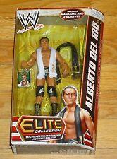 2012 WWE WWF Mattel Alberto Del Rio Elite Flashback Wrestling Figure MIP Ser 21