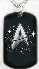 STARFLEET COMMAND - Dog tag Necklace/Keychain + FREE ENGRAVING