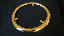 Brass Ball Shade Top Ring - Topper for Banquet or Gone-With-The-Wind Glass Lamp