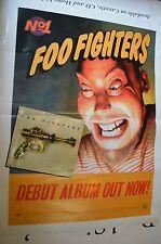 Foo Fighters, Debut Album No.1, Original Poster
