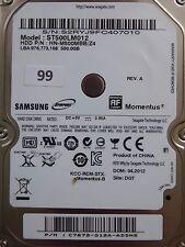 500 GB Samsung ST500LM012 HN-M500MBB /Z4 / 04.2012 / PCB: M8_REV.03 #99