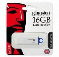16GB Flash Drive Kingston DataTraveler G4 USB 3.1 Gen 1 / USB 3.0 Memory stick